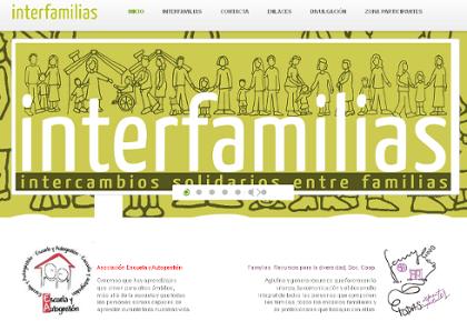 Asómate a la nueva web de Interfamilias