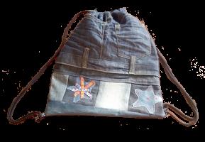 mochila vaquera